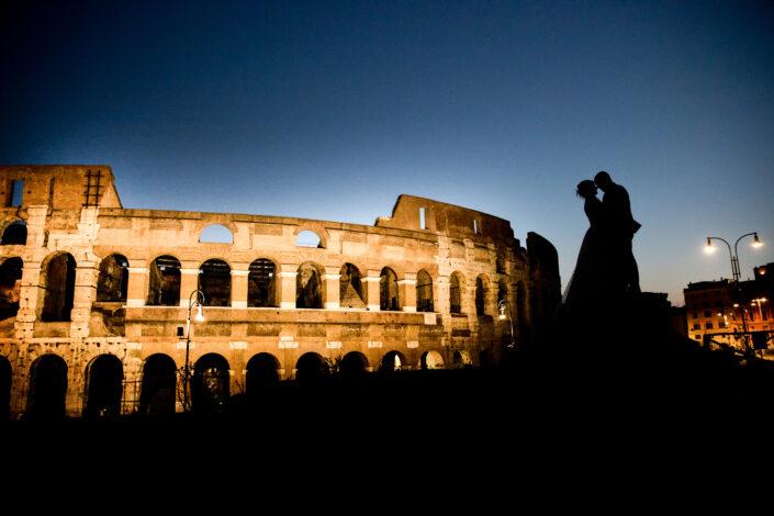 Claudio & Giusi... l'alba nella Roma Eterna